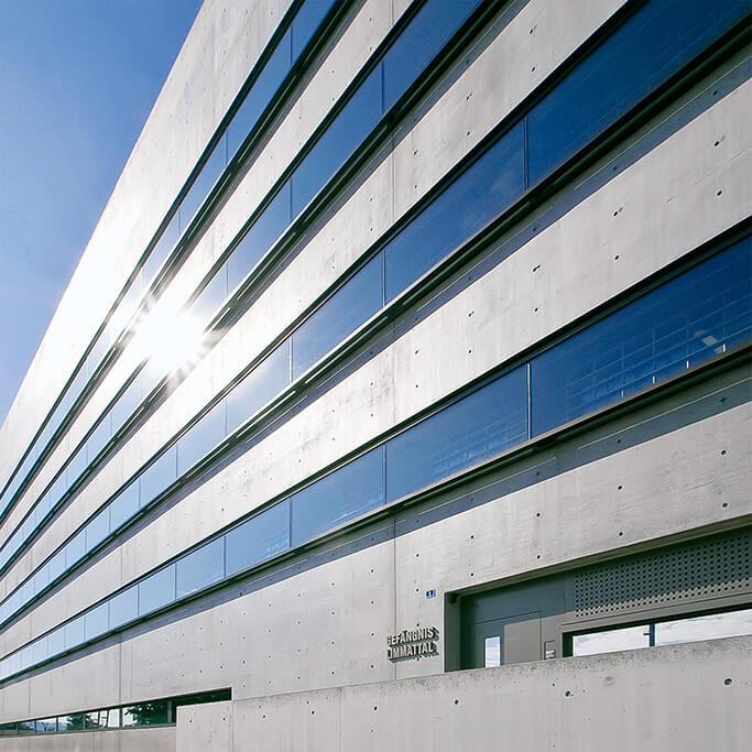 Cosmétique du béton DESAX SA, Bezirksgebäude, Dietikon ZH