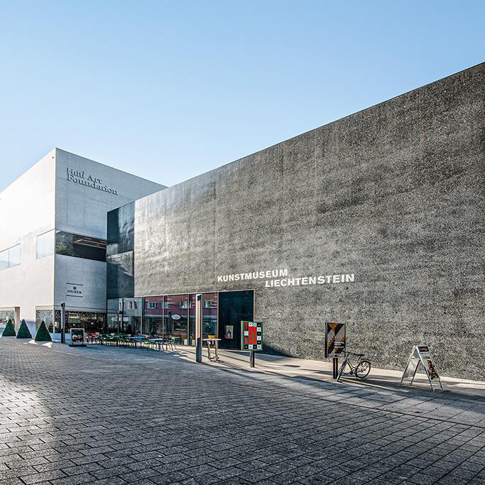 Betongestaltung DESAX AG Kunstmuseum Liechtenstein Vaduz FL