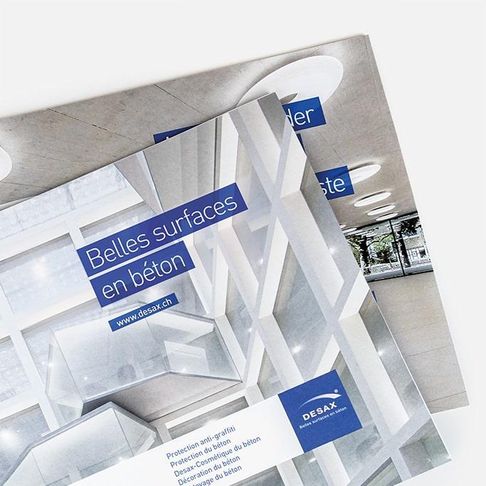 Surface en béton catalogue DESAX SA